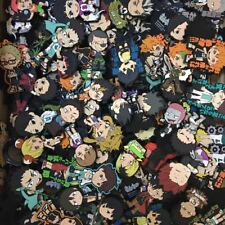 5pcs/set randomly send Anime Haikyuu!! haikyuu Keychain Key Ring Cosplay A