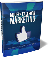 Modern Facebook Marketing Guide Pdf eBook with master resell rights