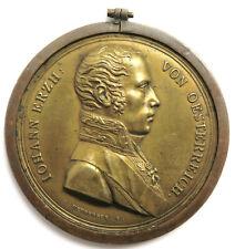 Medaille o.J., Erzherzog Johann, Sign. Neuberger