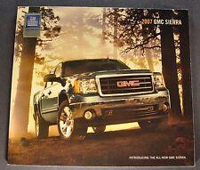 2007 GMC Sierra Pickup Truck Brochure SLE SLT Z71 4x4 Excellent Original 07