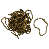 """20x Bronze Connector Clasp Ball Beads Jewelry Findings 4"""" 10cm DIY Finding"""