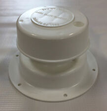 RV Plumbing / Attic Vent - White - Single