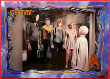 "STAR TREK TOS 50th Anniversary - ""THE CAGE"" - GOLD FOIL Chase Card #49"