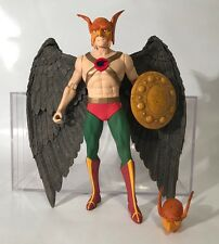 "DC Direct Hawkman 6"" Figure Deluxe 2 Pack 2000 HawkGirl Extra Mask Shield Rare"