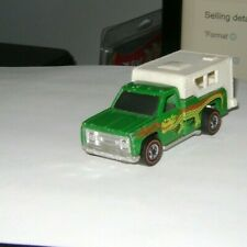 1974 Hot Wheels redline Backwoods Bomb Dragon Green Camper Truck Hong Kong
