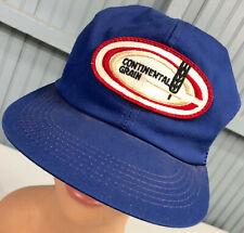 VTG Continental Grain K-Products Snapback Farming Baseball Cap Hat
