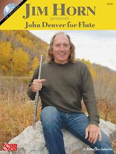 John Denver for Flute Jim Horn Sheet Music Pop Folk Songs Play-Along Book 00006000  Cd
