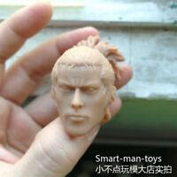 Free Ship blank 1/6 scale みやもと むさし Miyamoto Musashi 2.0 Head Sculpt unpainted