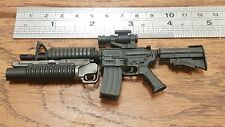 "1/6 scale custom Metal M4 Rifle BBI weapon M203 grenade launcher for 12"" figure"