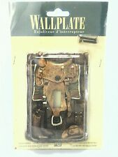 Figi Western Toggle Switch Handpainted Resin Wallplate Outlet Cover Barn Boot