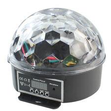 Discokugel Beleuchtung LED Lichteffekt RGB DJ Party Projector