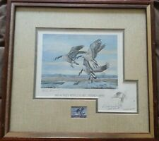 1979 Missouri State Duck Stamp and Signed Print (MO1)