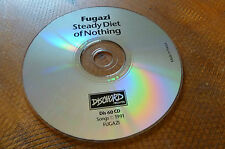 FUGAZI STEADY DIET OF NOTHING 1991 CD DISCHORD RECORDS FRANCE. DIS60CD. NO UPC!!