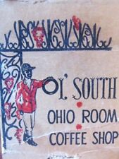 BLACK AMERICANA: OLD SOUTH COFFEE SHOP AT SOUTHERN HOTEL (COLUMBUS, OHIO) -K8