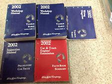 2002 FORD TAURUS MERCURY SABLE Service Shop Repair Manual Set W EWD & PRE DELIVE