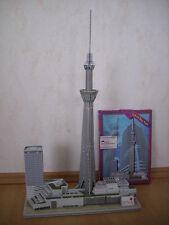 3D Puzzle Tokio Sky Tree Tower Turm Fernsehturm Tokyo Japan Skytree Gebäude
