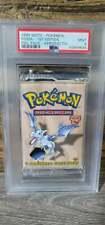 Pokemon WOTC 1st Edition Fossil Booster Pack- Aerodactyl Artwork PSA 9 MINT