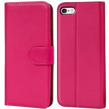 Case Cover Apple iPhone 4 4S Magnetic Flip PU Leather Wallet Holder Shell Bag