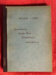 OLYMPIC GAMES ROME 1960 SWIMMING WATER POLO BASKETBALL GYMNASTICS HARRY NELSON