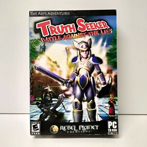New - Talicor The Axys Adventures - Truth Seeker PC Game