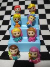 8 Lil GIRL Squinkies mini Figures Bridesmaid/Mermaids kids dolls SQUISHY LOT #46