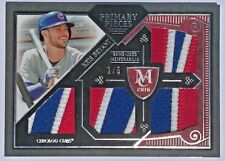 2016 TOPPS MUSEUM COLLECTION PRIMARY PIECES QUAD PATCHES ~ KRIS BRYANT  Chi Cubs