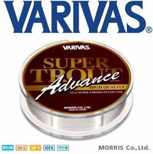 Varivas Super Trout Advance Hi Quality Va-G Super Strong Nylon Line 100M