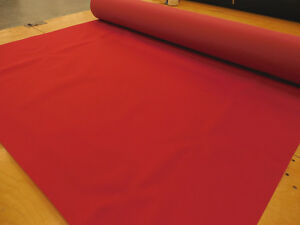 6 Yards 600x300D Red PVC Backed Polyester 12.5 oz. Waterproof FREE SHIPPING!