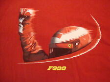Ferrari F399 Race Car Driver Artwork Fan Red T Shirt M