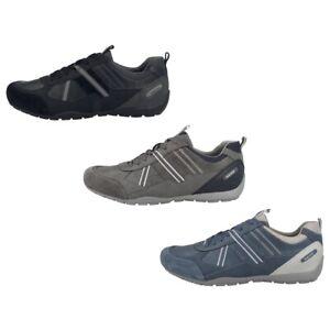 Geox U Ravex A Herren Sneaker low verschiedene Farben Turnschuhe Sportschuhe