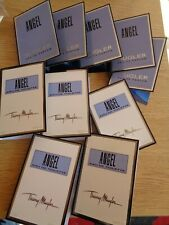 THIERRY MUGLER ANGEL ORIGINAL X 10 SAMPLES EDT + EDP VIALS NEW IN PERFUME 1.2ML