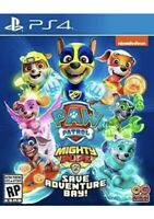 PAW Patrol Mighty Pups Save Adventure Bay PlayStation 4 PS4 Brand New Sealed