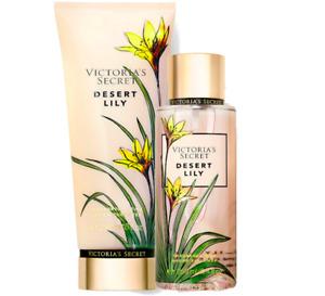 Victoria's Secret Desert Lily Fragrance Lotion + Fragrance Mist Duo Set