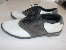 FootJoy Women's White/Brown Golf Shoes Size 7 1/2 Spikeless