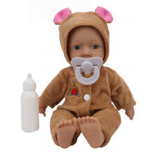 11'' Soft Reborn Doll Toy Playset & Accessories with Outfit for Girls and Boys