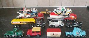 Matchbox Mixed Job Lot Convoy Trucks etc 19 Pieces