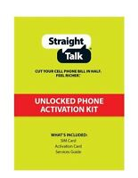 Straight Talk Gsm Nano SIM Card Activation Kit Saves You Money On Phone Bill