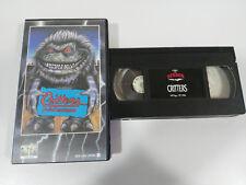 CRITTERS ¡ AUGE BISS ! STEPHEN HEREK HORROR VHS KASSETTE SPANISCH