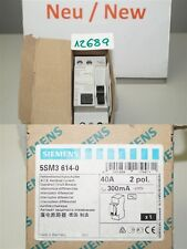 Siemens Salvavita Corrente 40a Interruttore Differenziale 30ma 5sm3614-0