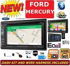 FORD MERCURY GPS NAVIGATION SYSTEM Bluetooth DVD CD USB AUX CAR Radio Stereo Kit