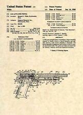 Official Desert Eagle US Patent Art Print - Firearm Gun Pistol Israeli 50cal 298