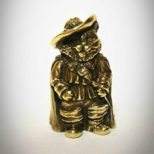 Puss in Boots Bronze Thimble