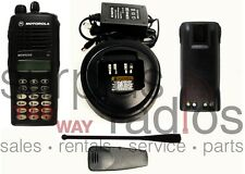 MOTOROLA MTX9250 900MHZ DTMF PRIVACY PLUS TRUNKING RADIO HAM POLICE FIRE EMS