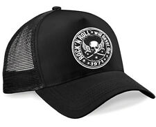 Rock n Roll Trucker Cap Hot Rod V8 Biker Oldschool Basecap Rockabilly Kappe