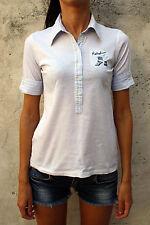 REPLAY & SONS a maniche corte CASUALS Bianco Maglia Top Ragazze XL162cm donna S SMALL