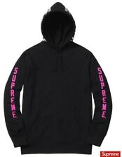 Supreme Thrasher Boyfriend Hooded Sweatshirt Black Size Large Hoodie SS17  New 41c0245e0d
