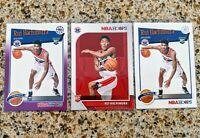 Rui Hachimura 🔥 Washington Wizards {NBA Hoops 3 Card Rookie Set}