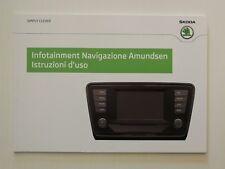 SKODA istruzioni d 'uso situazione navigazione Amundsen 05.13 italian // 1106