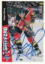 RAY SHEPPARD PANTHERS AUTOGRAPH AUTO 96-97 UD COLLECTORS CHOICE #111 *10724