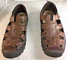 """Aetrex Brown Sandal Shoes 11W """"D"""""""